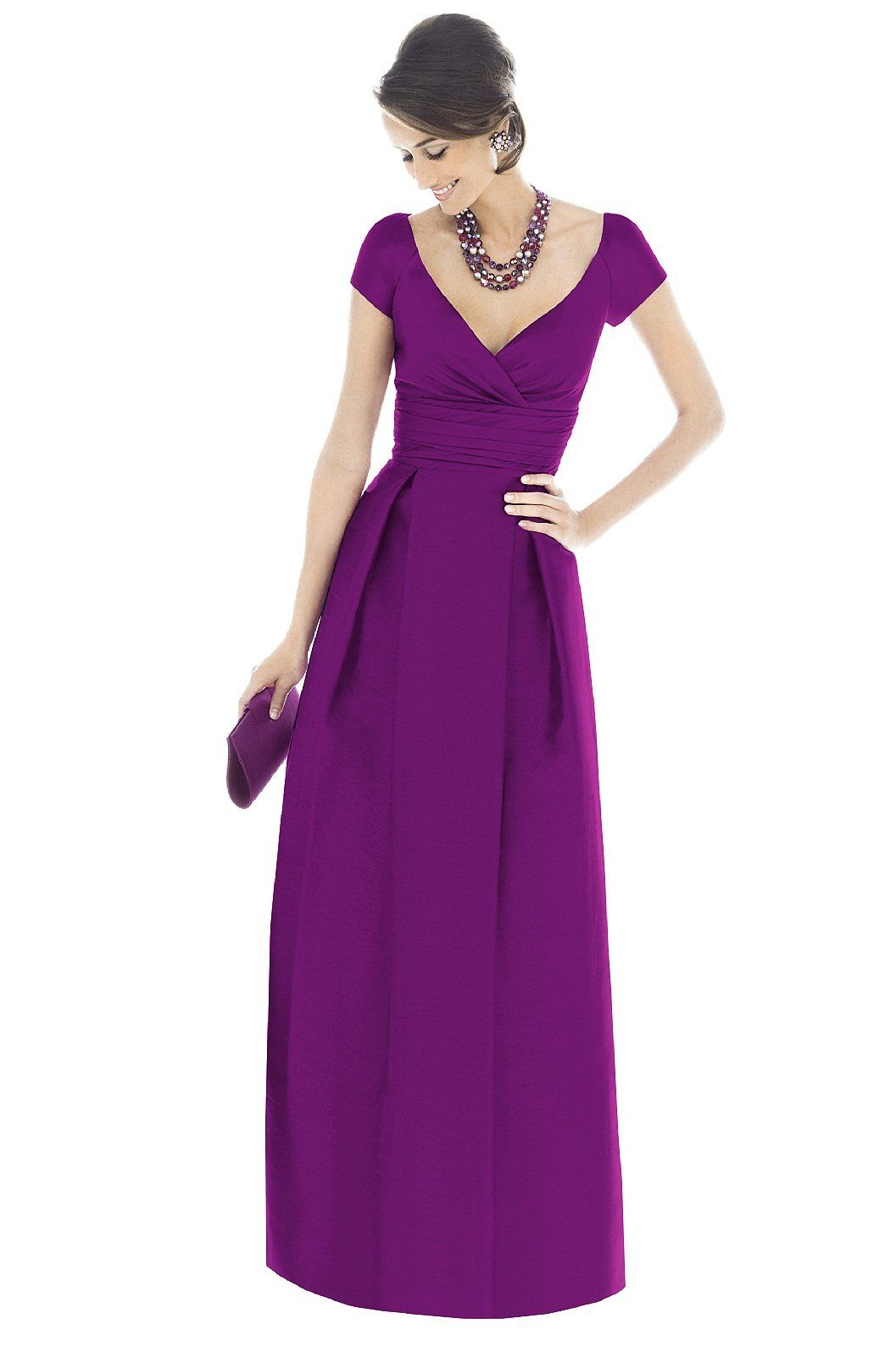 Shop Alfred Sung Bridesmaid Dress - D501 in Dupioni at Weddington ...