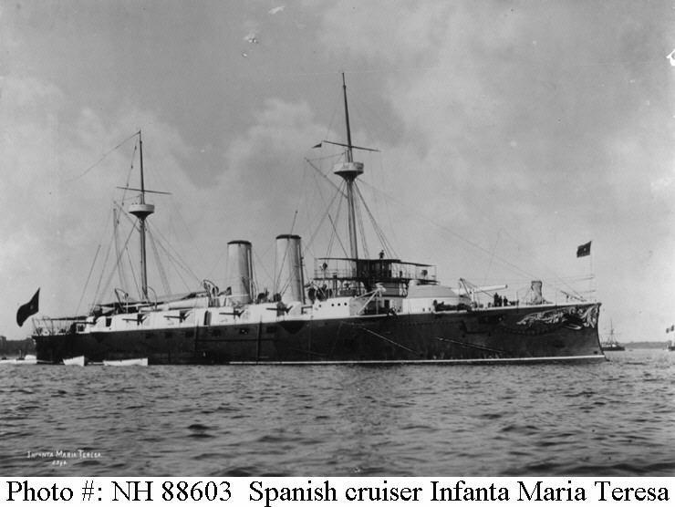 Guerra naval (armada española) Infanta Maria Teresa