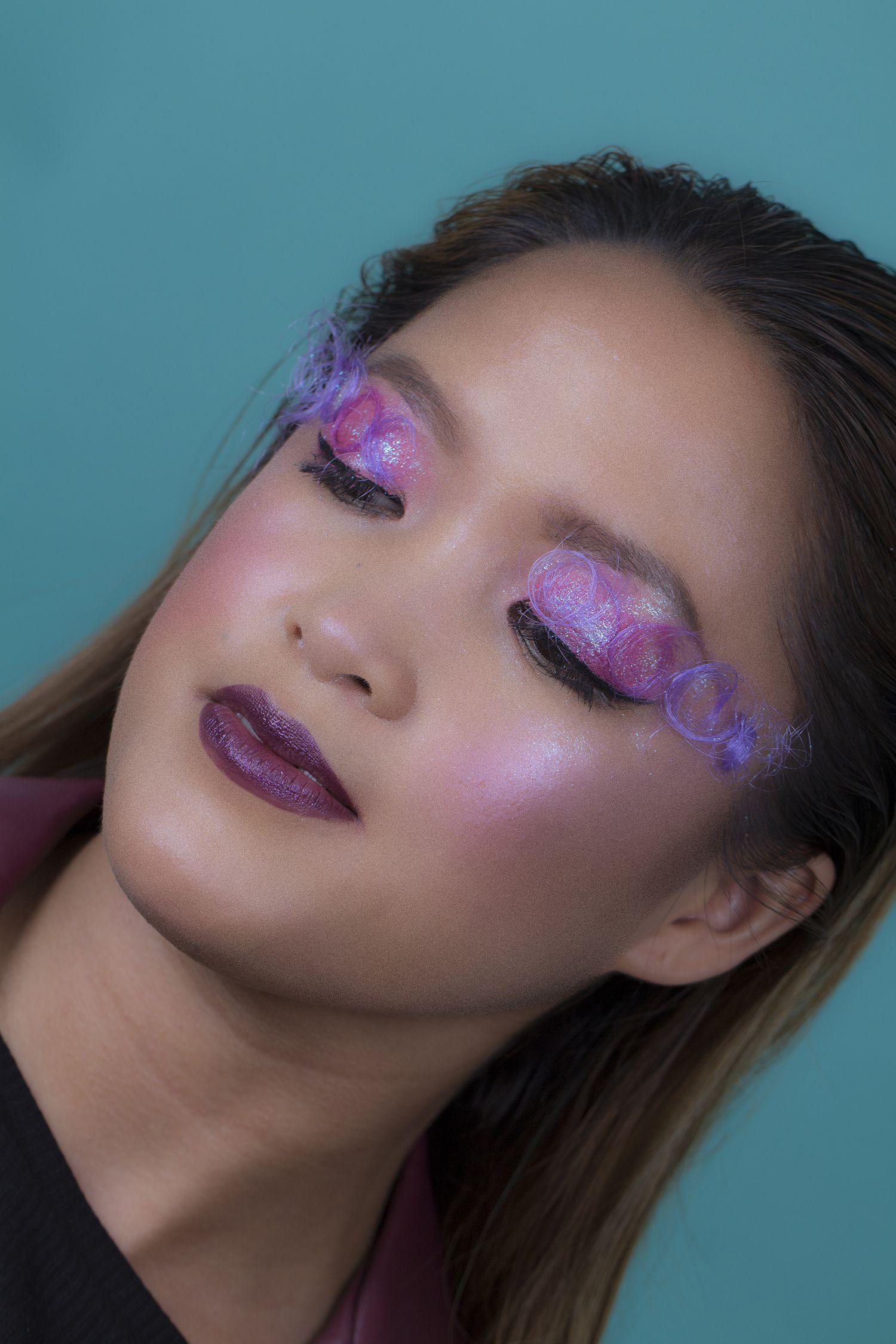 Fantasy Makeup Glitter Chromaglow Makeup By Lisa Cooper