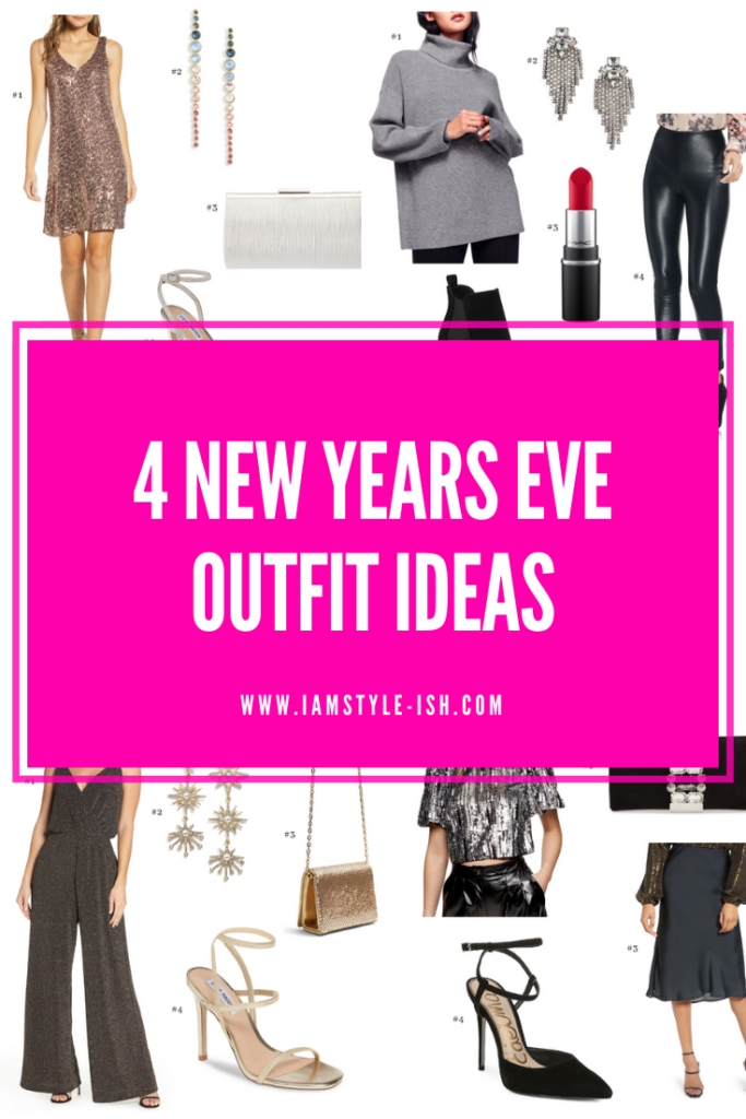 4 New Years Eve Outfit Ideas (+ FREE Printable)