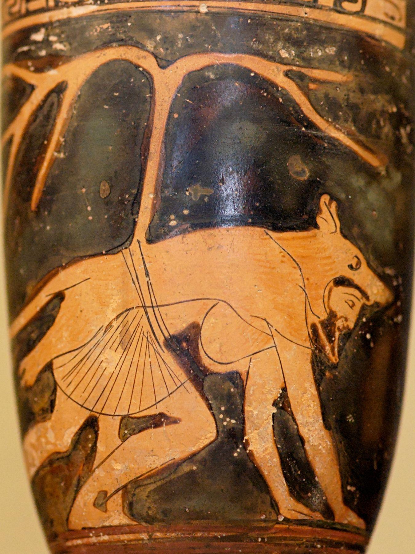 greek animal gods vases - Google Search