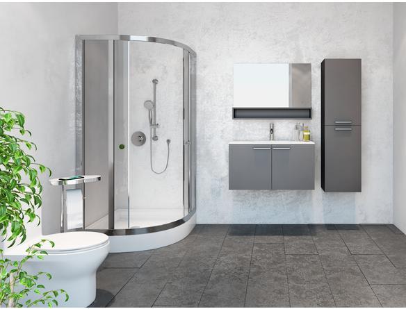 Ensemble de salle de bain complet au design contemporain - Ensemble robinetterie salle de bain ...