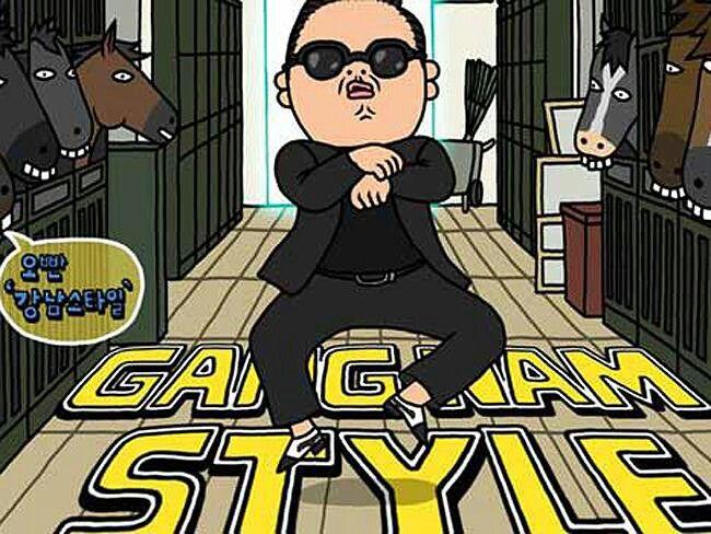 Hop hop hop huppa gangnam style