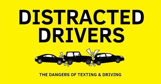Infographic Distracted Driver The Danger Of Texting And Driving Sock On An Octopu Essay Question While Big Word To Use Essays