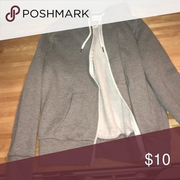 Perfect condition zip up Grey -has good Tops Sweatshirts & Hoodies