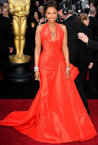 Jennifer Hudson in Atelier Versace Spring 2008 at the 2011 Oscars, February 2011