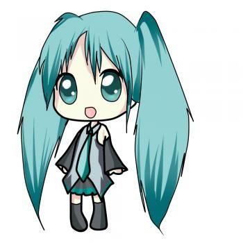 How To Draw Chibi Miku Chibi Drawings Miku Hatsune Chibi Anime Chibi