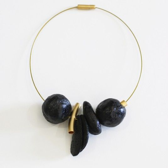 Gold Elements Cable Necklace | RUTI