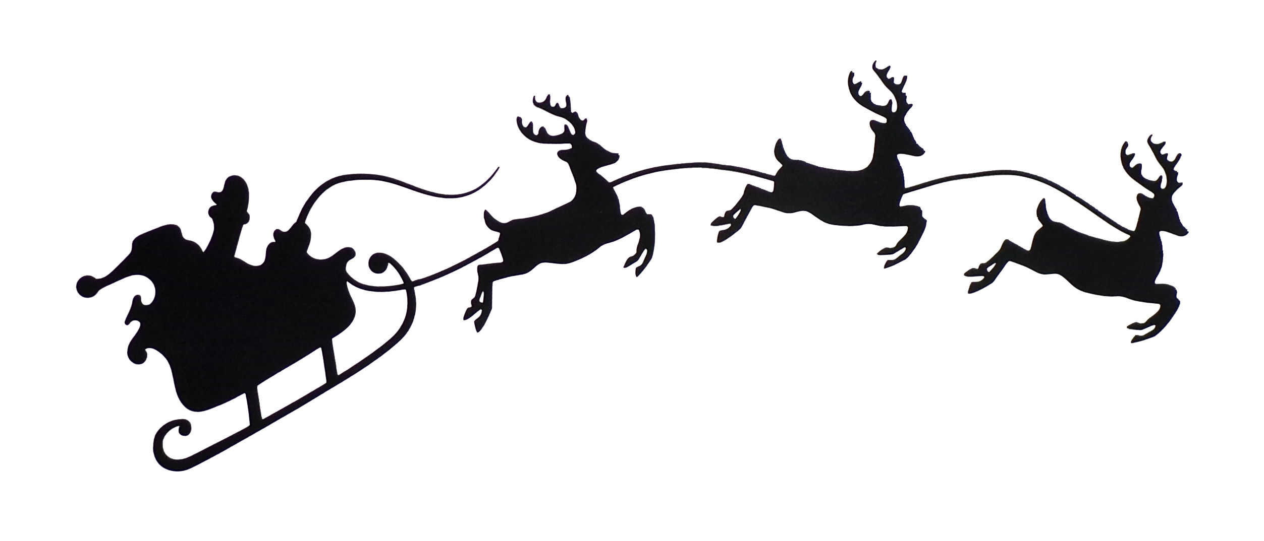 The Perfect Embellishment For Your Christmas Dresden Neighborhood Quilt This Santa And Reindeer Are Pre Fused Wit Santa And Reindeer Reindeer Reindeer Drawing