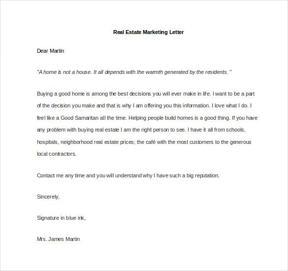 Marketing Letter Template Free Word Excel Pdf Documents What Write