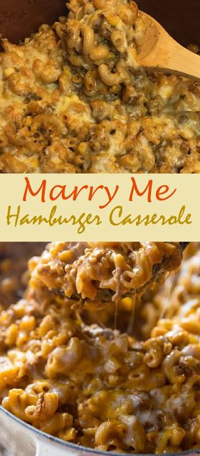 Marry Me Hamburger Casserole Dinner Recipesz In 2020 Beef Casserole Recipes Meat Recipes For Dinner Beef Recipes For Dinner