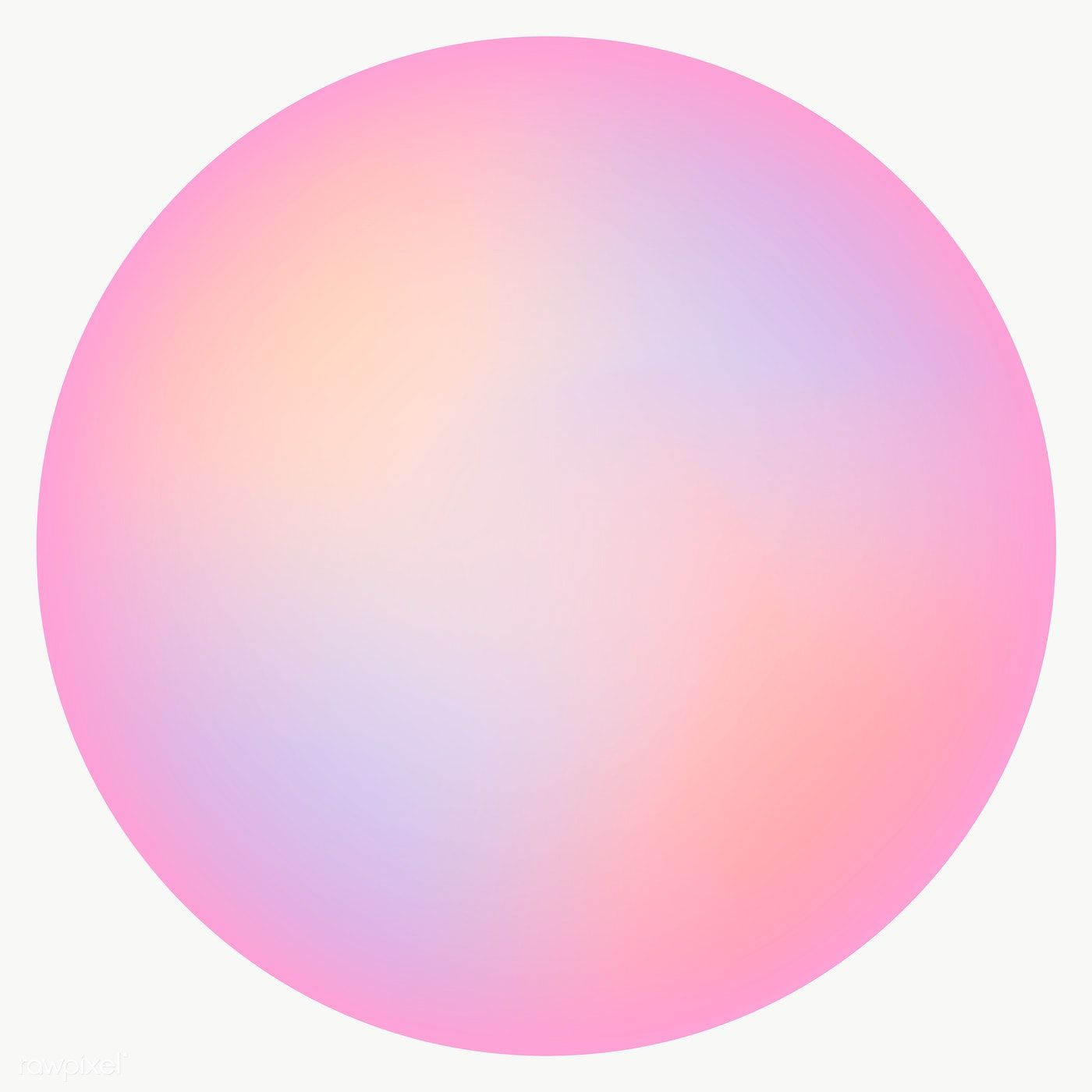 Colorful Round Gradient Element Transparent Png Premium Image By Rawpixel Com Nunny Aura Colors Abstract Expressionist Art Pastel Pink Aesthetic