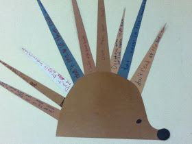 DCG Elementary Libraries: Marion the Hedgehog and Book Care