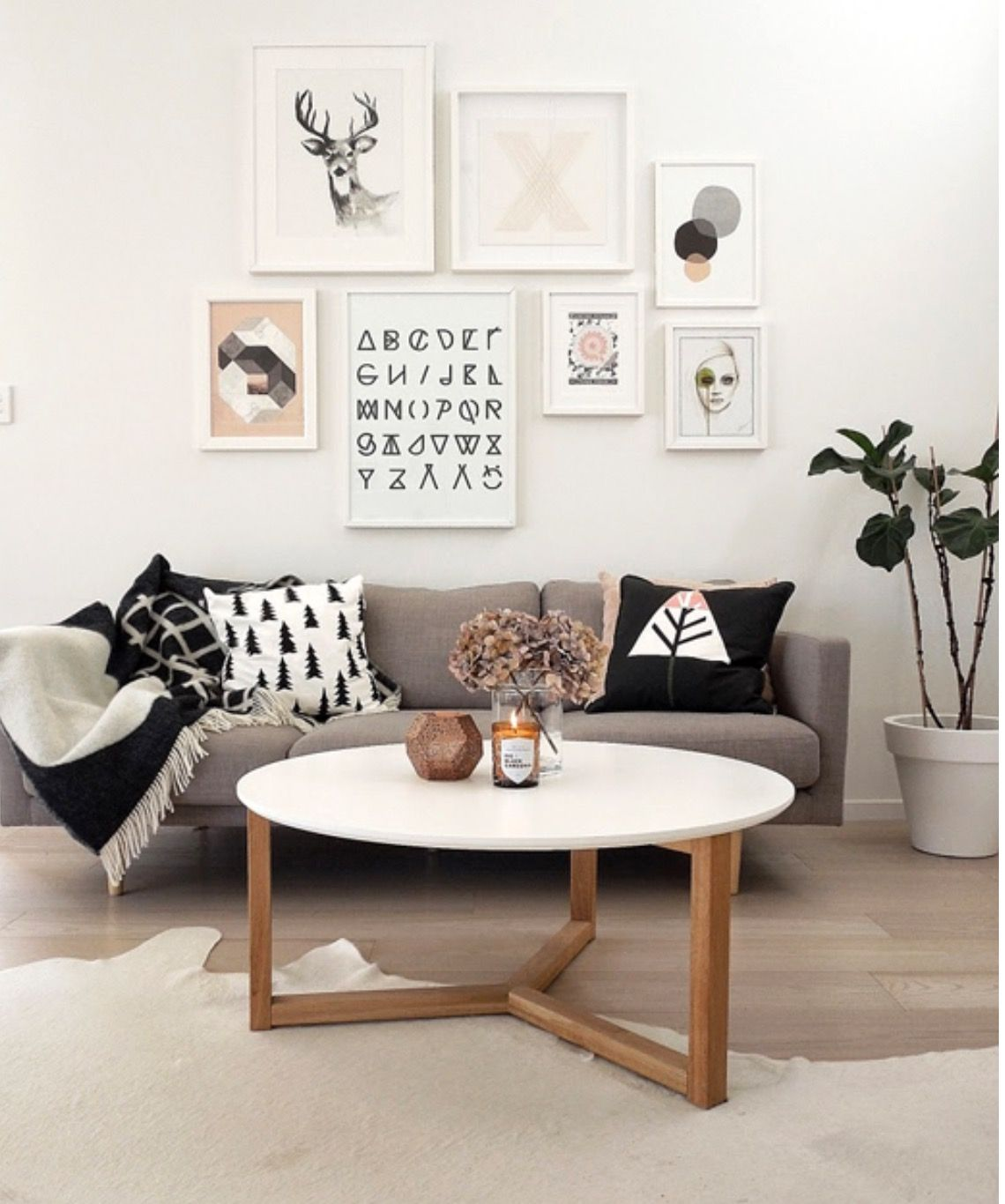 Alphabet in black and white   Home   Pinterest   Living rooms, Room ...