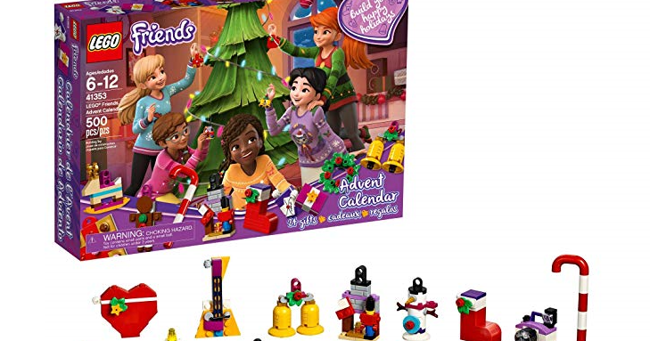 Lego Friends Advent Calendar New 2018 Edition Only 25 99 Reg 29 99 Lego Friends Lego Advent Calendar