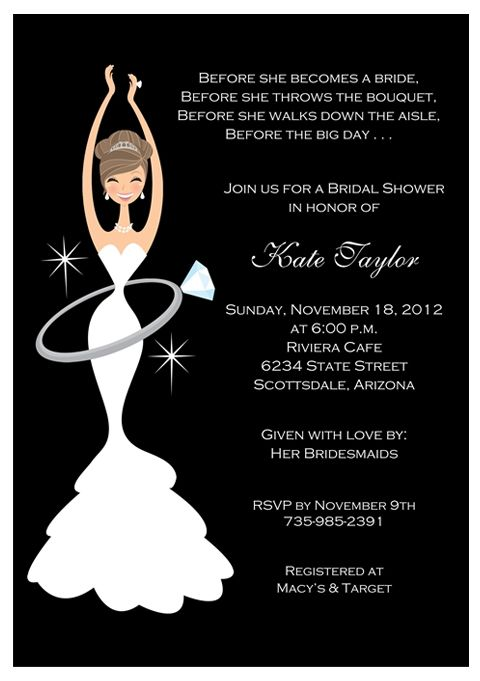 bridal shower invites invitations
