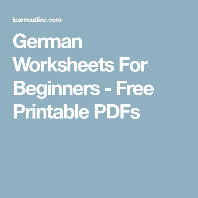 german worksheets for beginners free printable pdfs random idioma alem n alem n idiomas. Black Bedroom Furniture Sets. Home Design Ideas