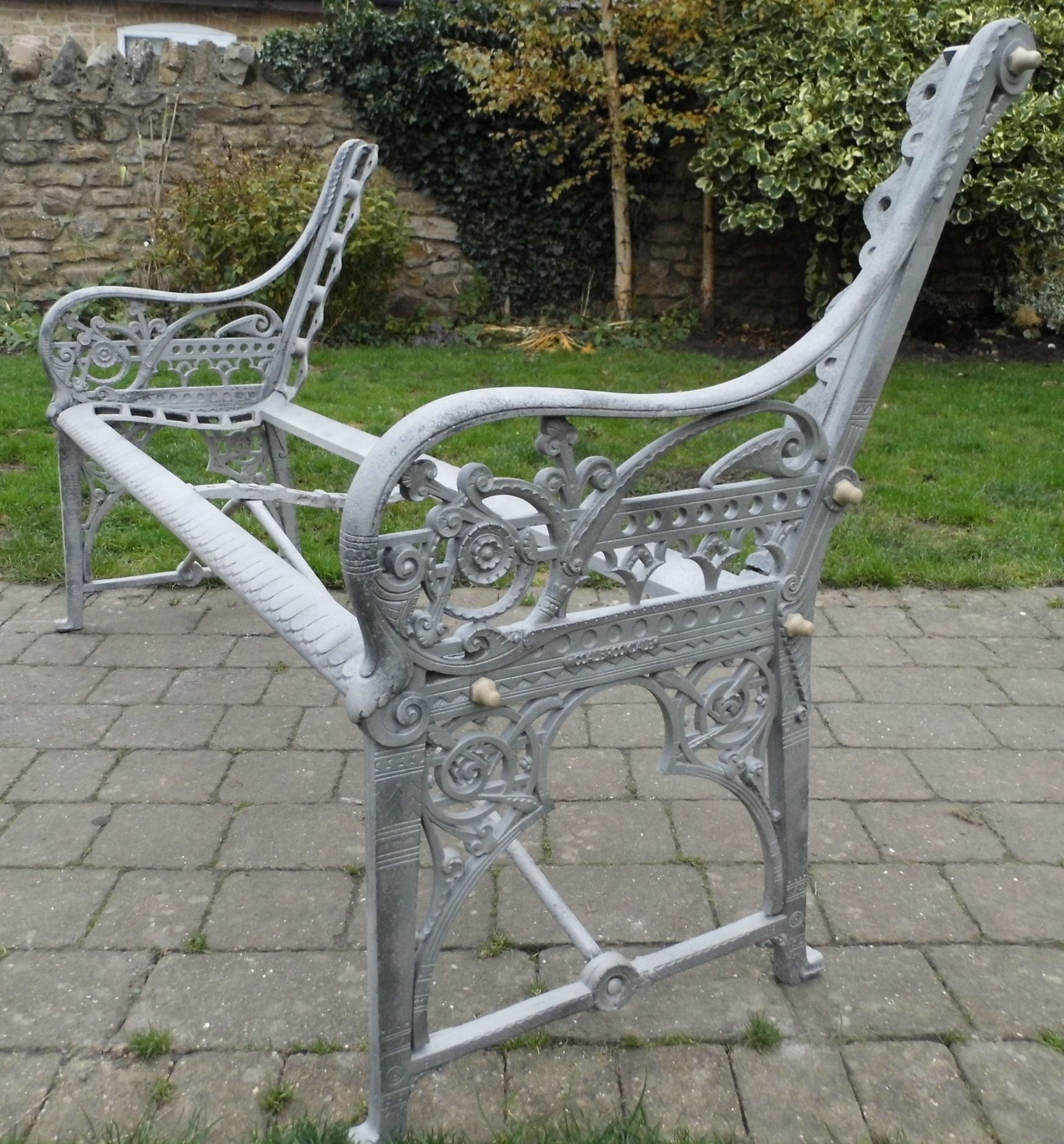 Coalbrookdale Medieval Bench This One A Super Rare Example Fully