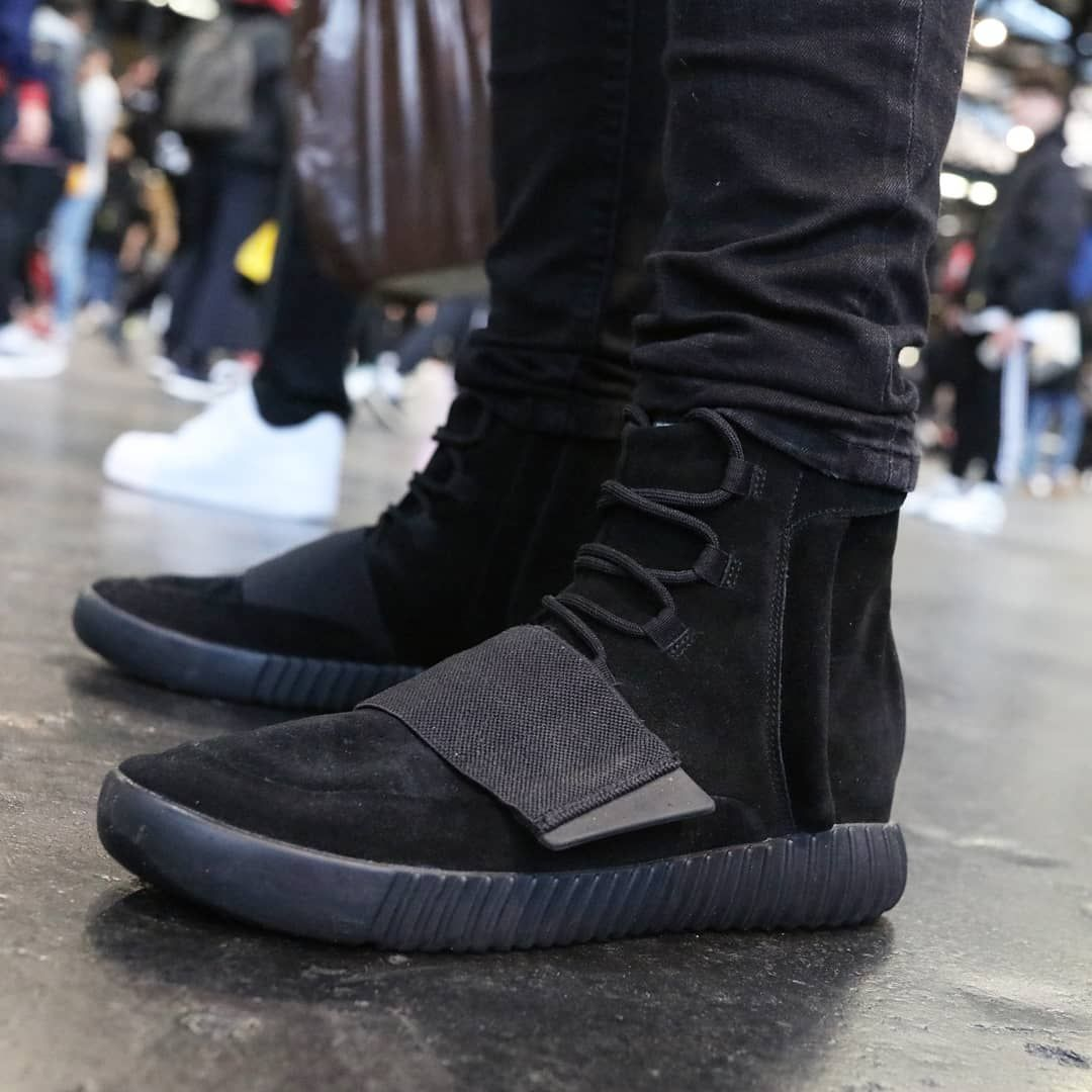 Adidas Yeezy Boost 750 Triple Black Yeezy By Kanye West All Black Sneakers Adidas Yeezy Boost