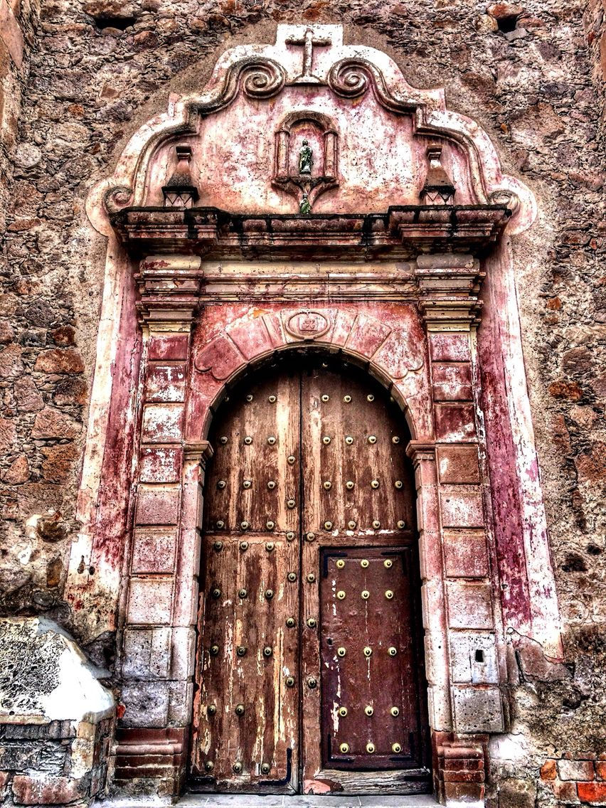 Templo de San Judas Tadeo en Villanueva Zacatecas. Old Doors & Templo de San Judas Tadeo en Villanueva Zacatecas. Old Doors ... Pezcame.Com