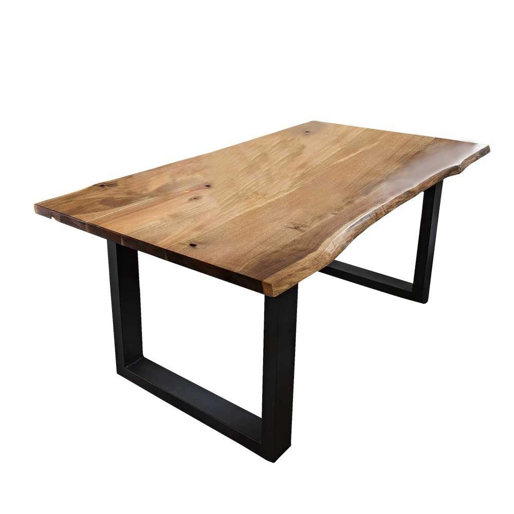 massivholzplatte tisch