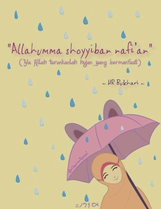 74 Gambar Kartun Lucu Hujan Gratis Terbaik