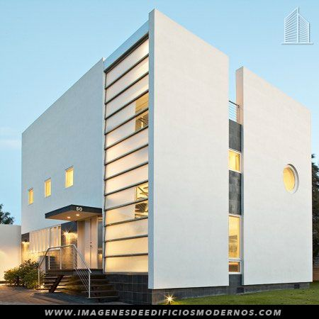 Fachadas de edificios modernos 3 pisos galerias fachadas for Fachadas edificios modernos