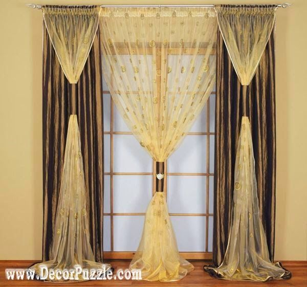 Delightful Stylish Curtains For French Doors, French Style Curtains 2015