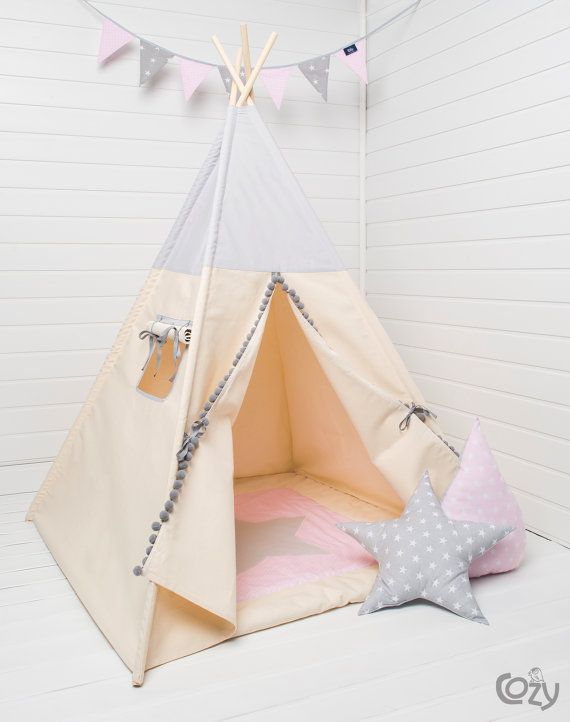 Indian teepee kids play tent tipi tente indienne, tente de teepee ...