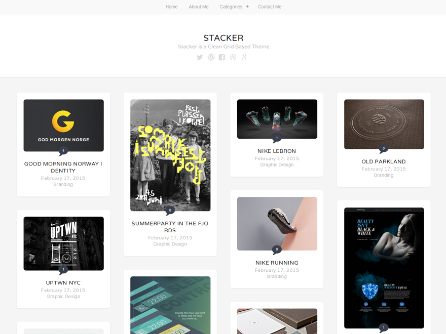 WordPress › Stacker Lite « Free WordPress Themes | Wordpress ...