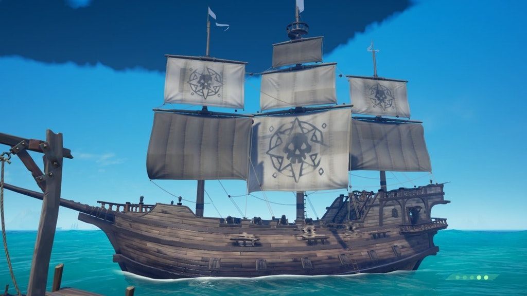 Https Www Reddit Com R Seaofthieves Comments 885bd5 Sea Of Thieves Alpha Sails The Title You Get Is Sea Of Thieves Sea Sailing