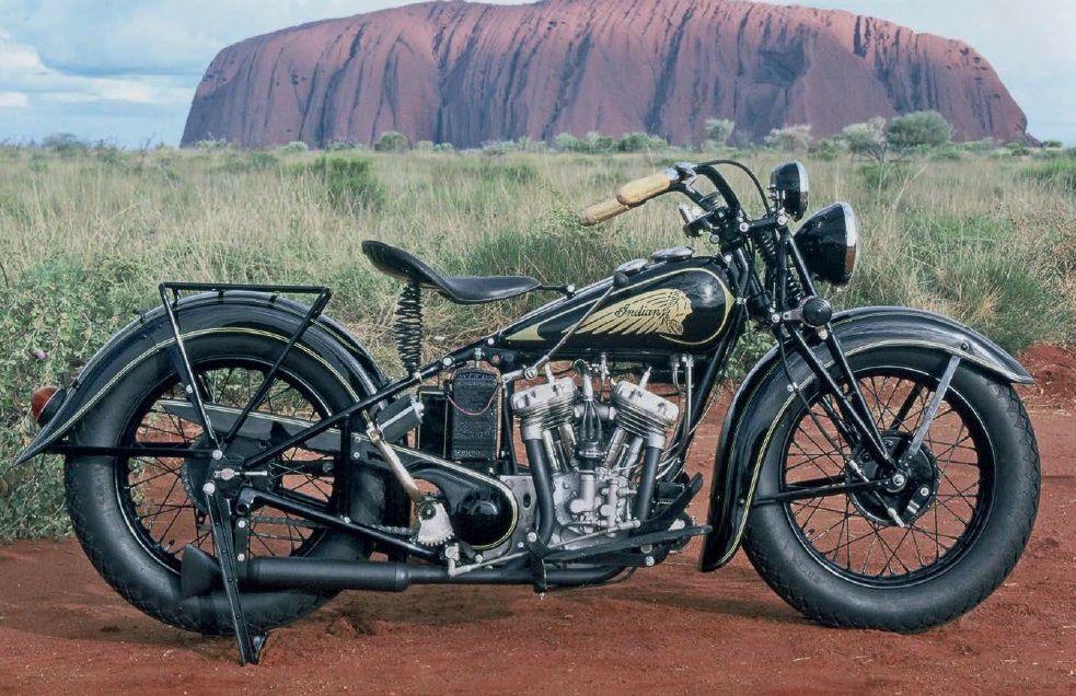 1934 Indian Scout Sport Motocicletas Indian