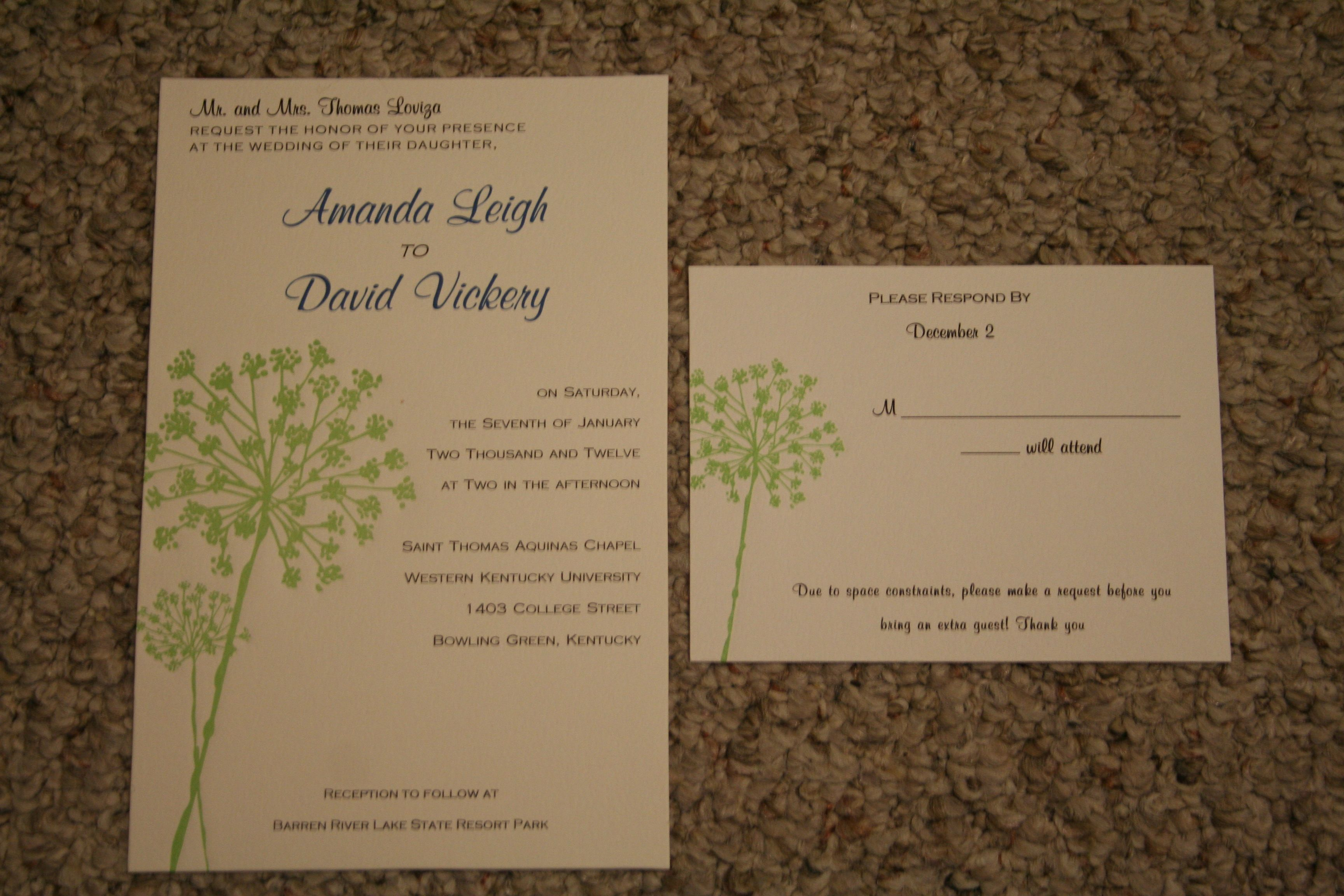 Target Wedding Invitations: DIY Invites From Target.