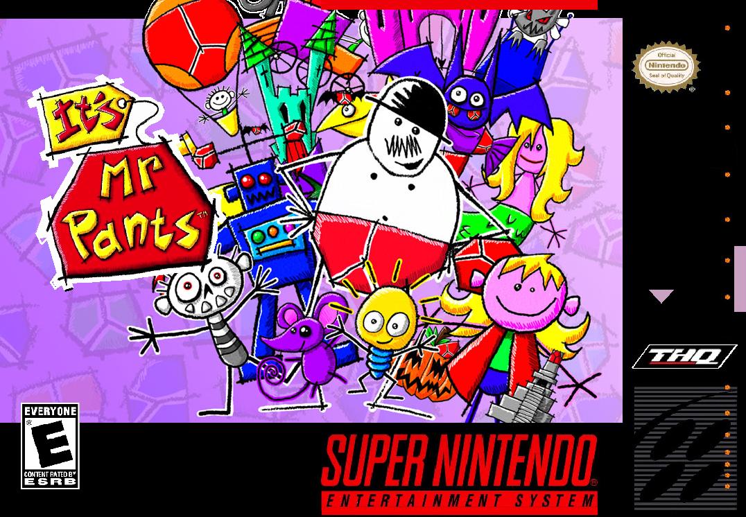 It's Mr. Pants Super nintendo games, Super nintendo