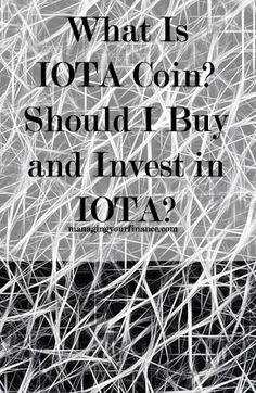 How do you buy iota cryptocurrency
