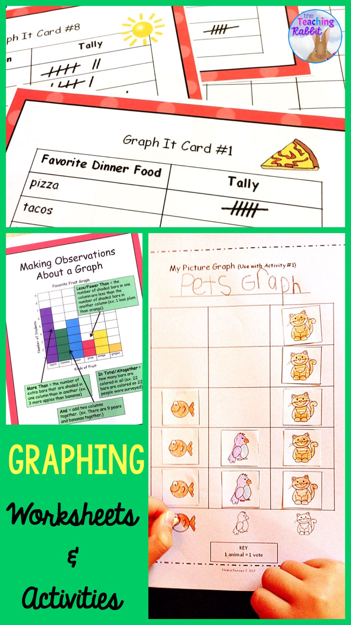 Graphing Worksheets Amp Activities 2nd Grade With Images