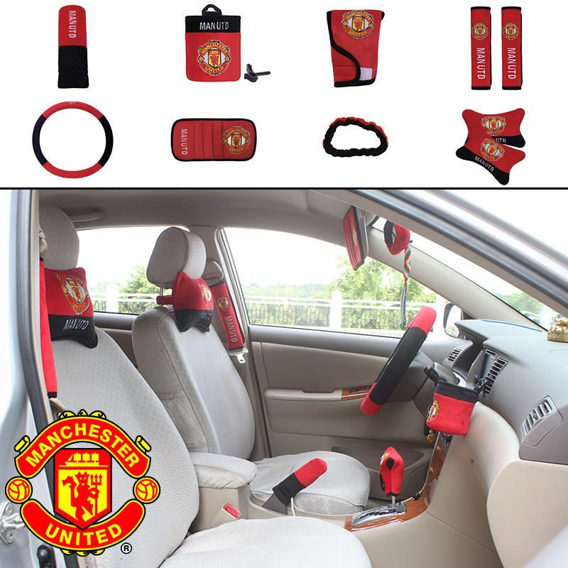 On Sale New Football Club Manchester United Car Accessories
