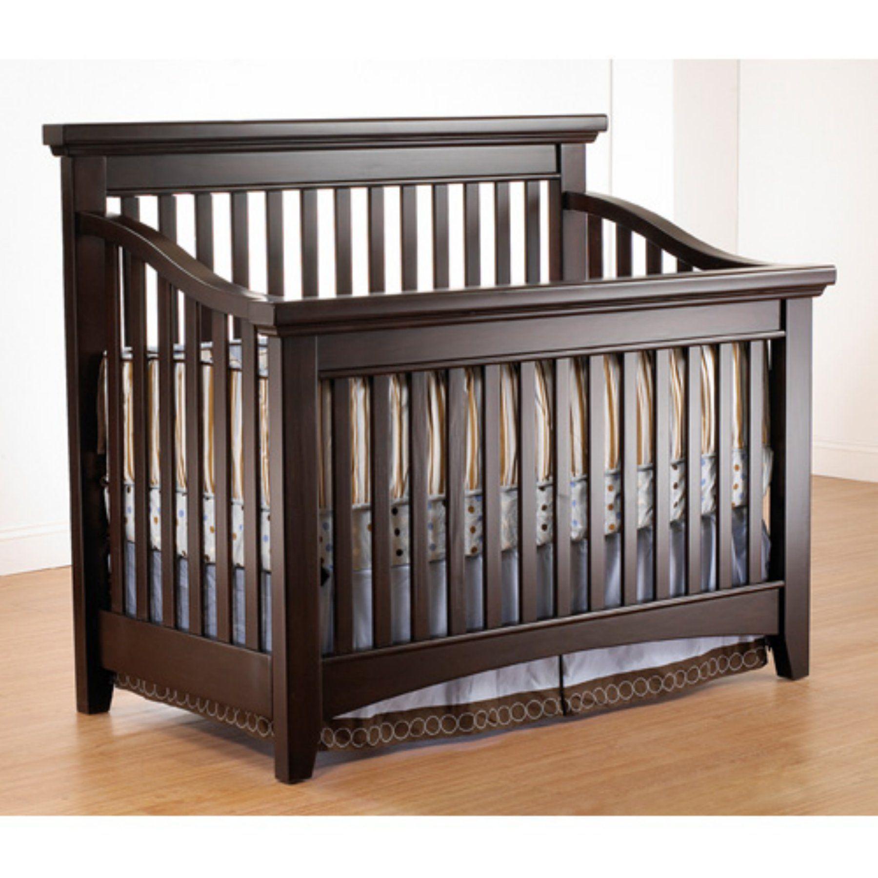 Lusso Nursery Seville 4in1 Crib with Mini Rail 165E