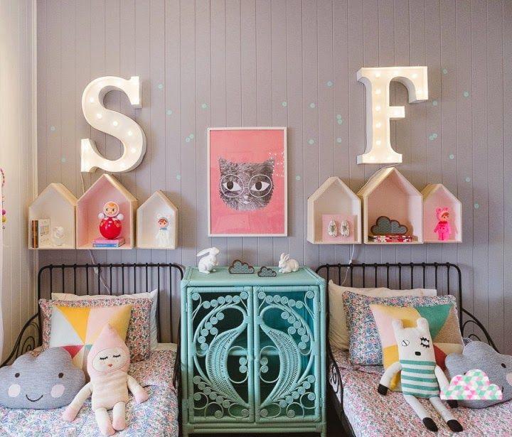 déco-chambre-jumelles-fille   Chambre jumelles   Pinterest   Chambre ...