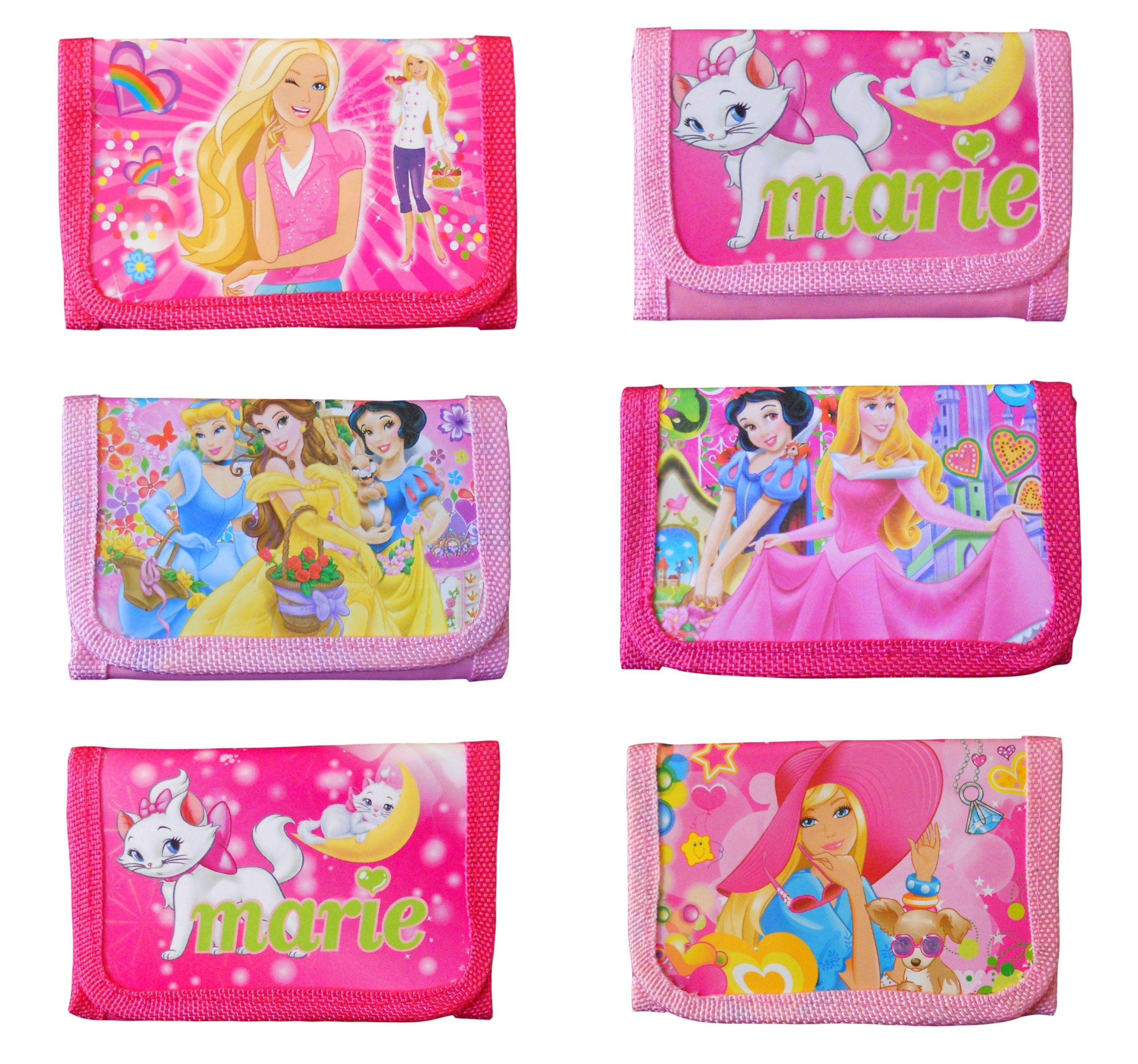 32.49 - New Children Wallet Disney Princesses Cute Cartoon Kids Girls Gift Party Bag UK