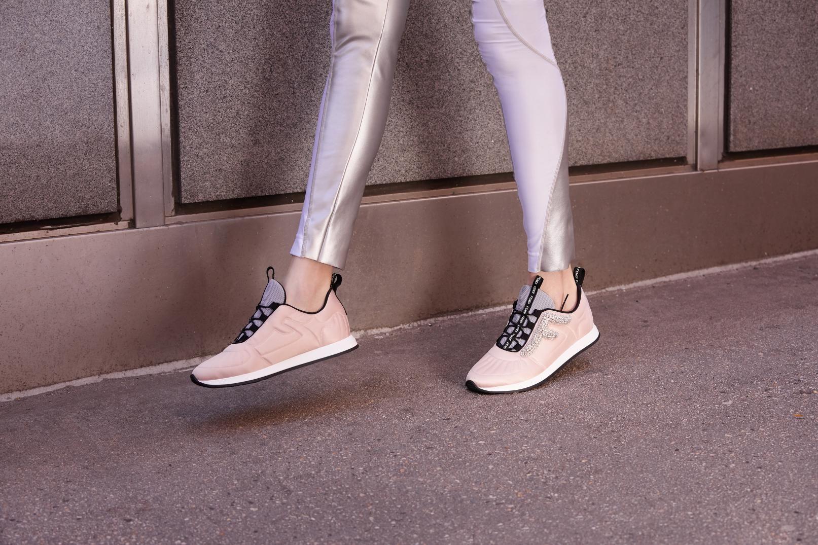 saks fendi sneakers