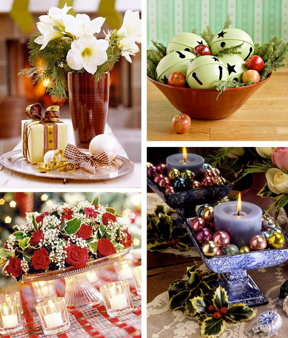 Christmas Holiday Centerpiece Decoration Ideas Decorating Ideas