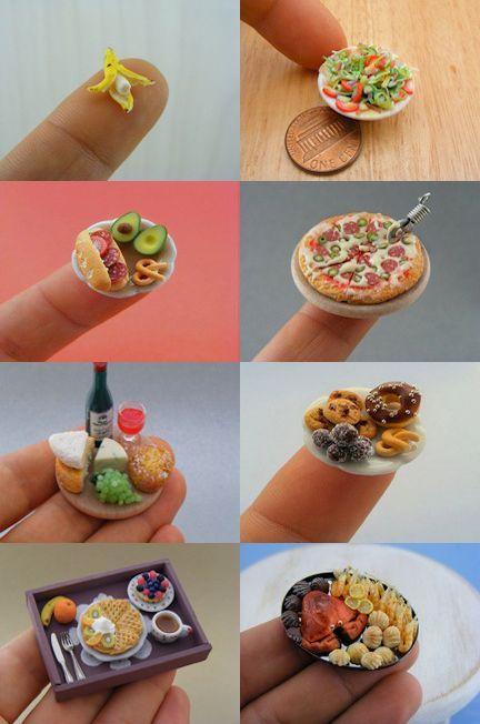 Miniature Foods | Shay Aron | Flickr #miniaturedolls Miniature Foods | Shay Aron | Flickr #miniaturedolls