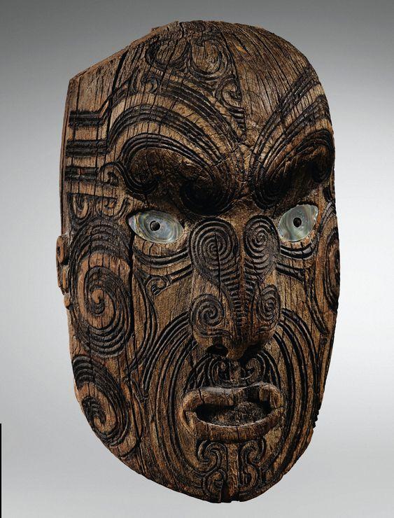Maori Mask, New Zealand. Sotheby's