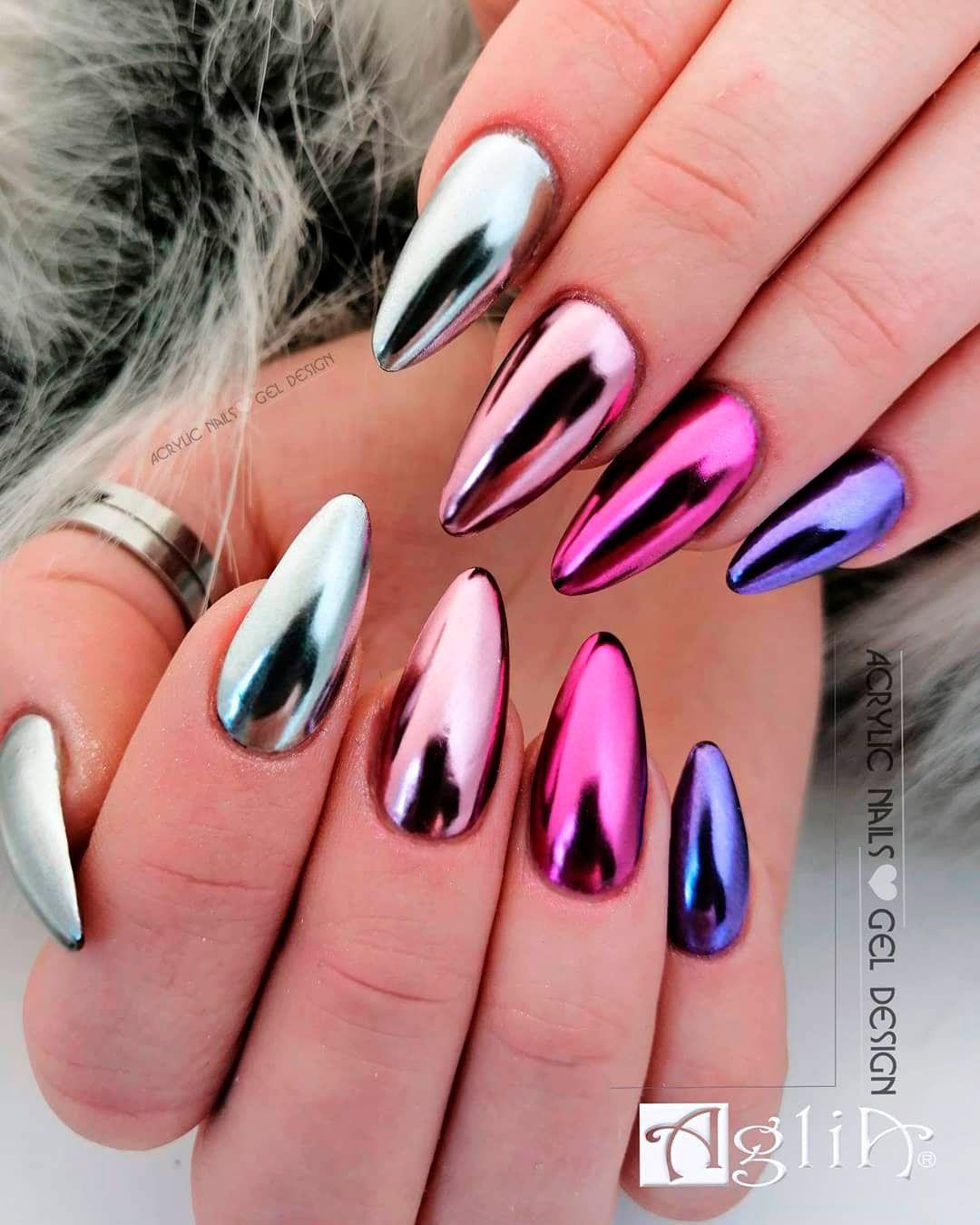 The Best Chrome Nail Ideas to Copy #chromenails