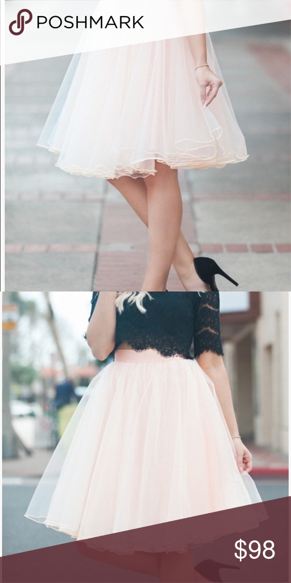 99f117c0eb Timeless, versatile, and chic! Tulle skirts gives THE feminine touch we all  desire. Has 4-layers of tulle giving just the right amount of ...