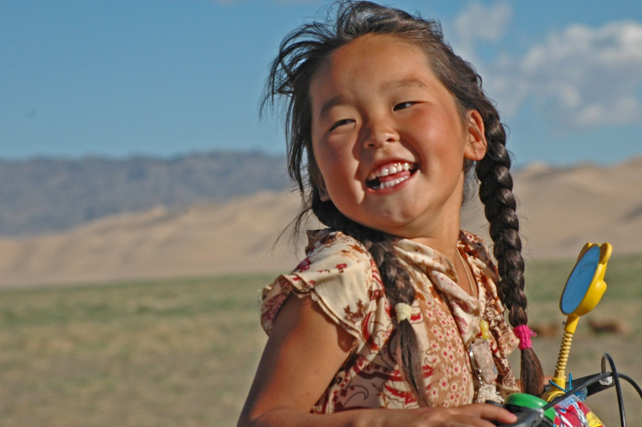 Mongolia Girl | tight bookmark mongolian jug 2005 adrienne ...