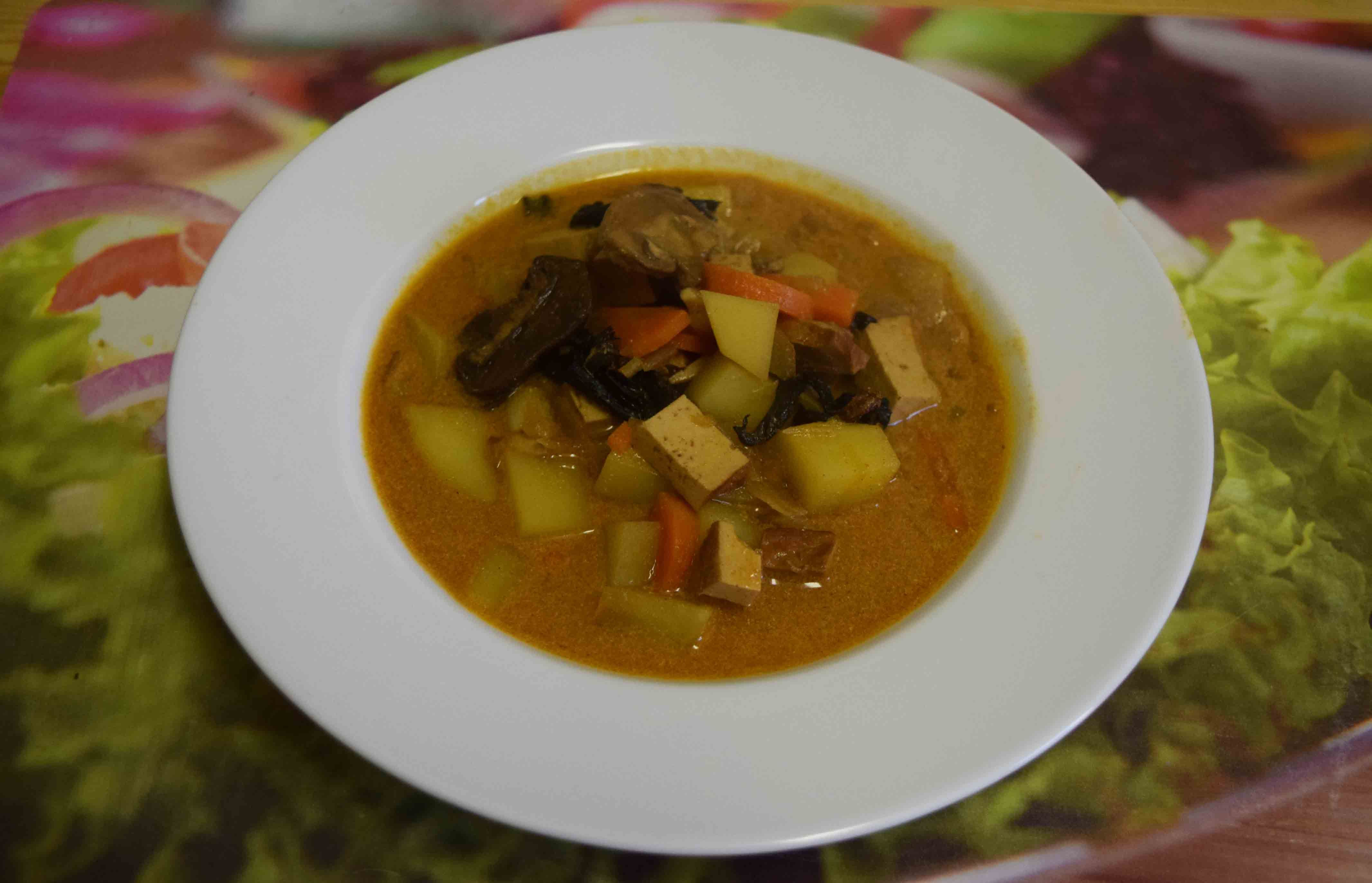 Zagorska Juha Pilzsuppe Aus Dem Zagorje Rezepte Aus Kroatien Kroatische Rezepte Pilzsuppe Suppe
