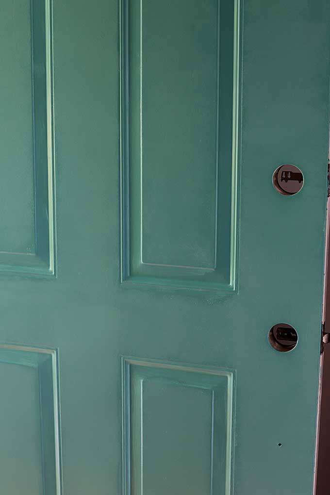 How To Paint A Front Door Without Removing It