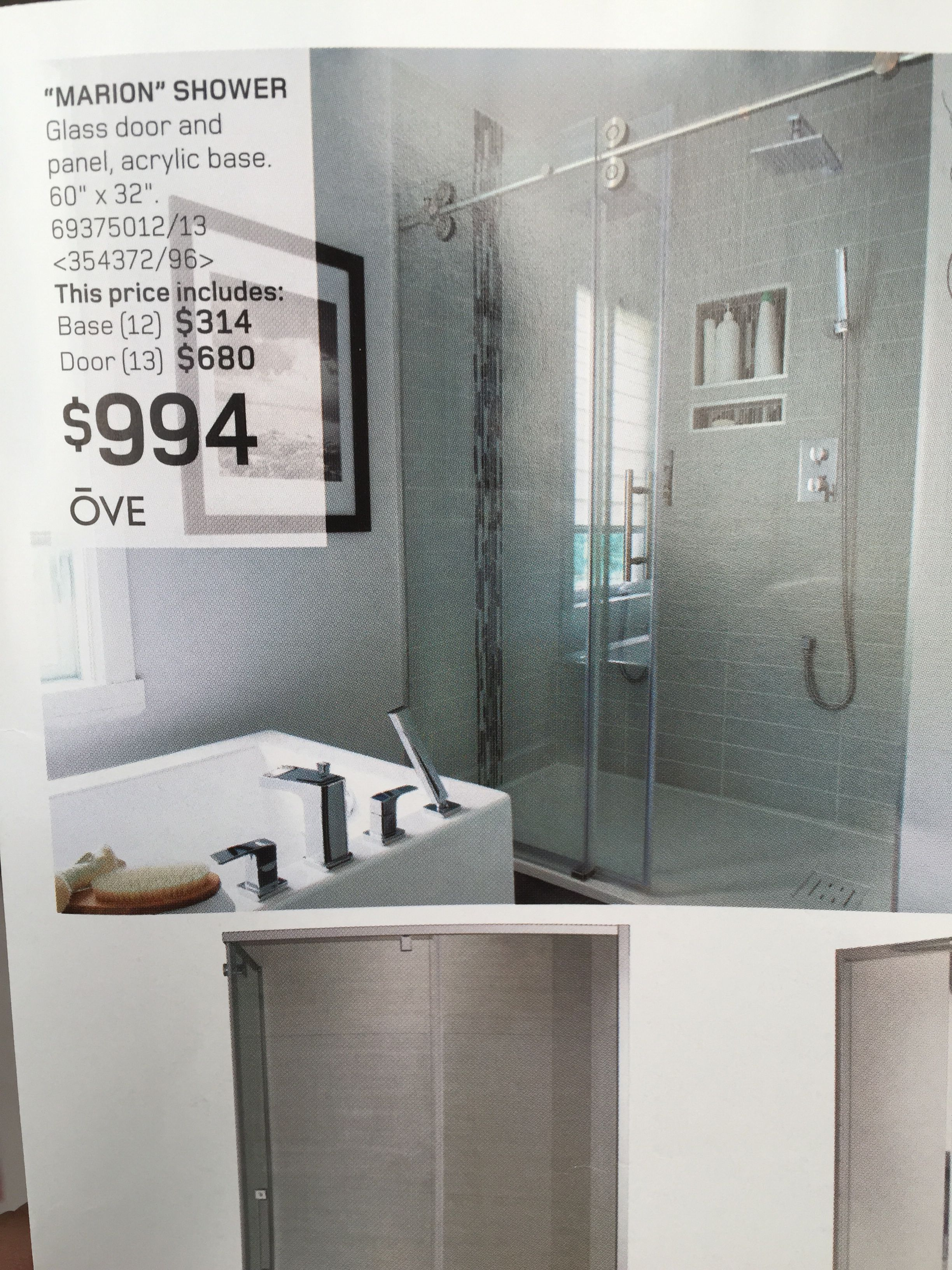 From Rona Flyer Feb 28 Glass Shower Glass Shower Doors